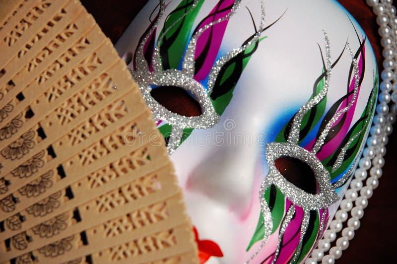 piękna twarz orientalna konceptualna zdjęcia stock