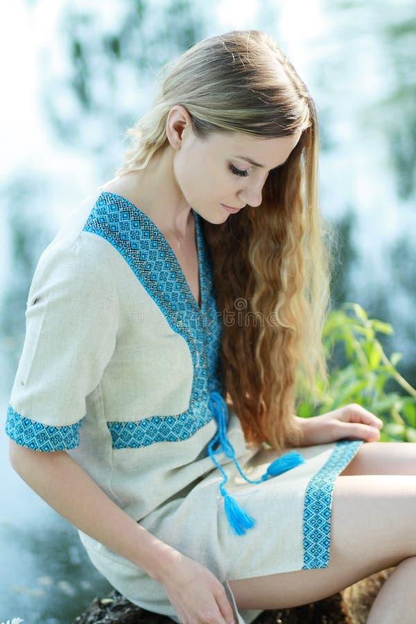 Piękna Ukraińska kobieta fotografia royalty free