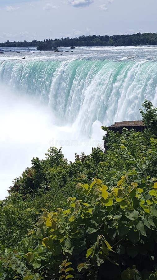 piękna upadek wody fotografia royalty free