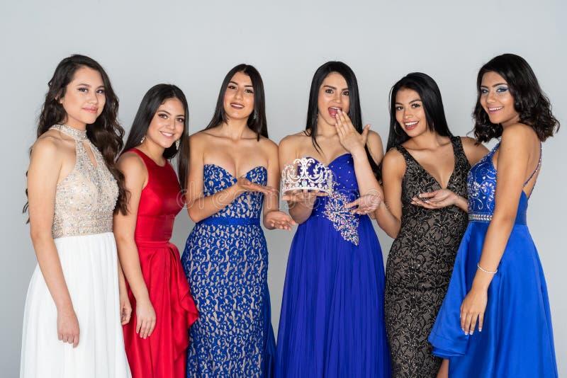 Piękna widowiska konkursanci fotografia royalty free