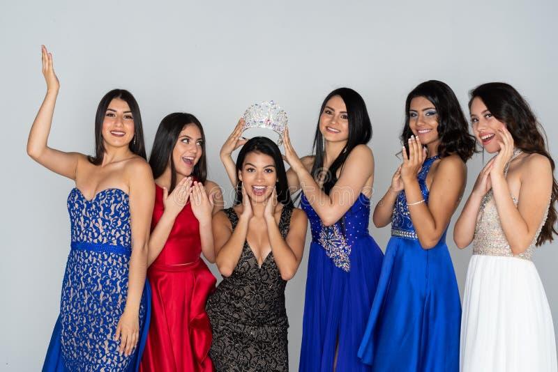 Piękna widowiska konkursanci zdjęcia royalty free
