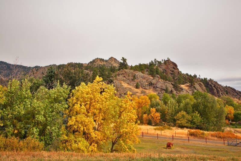 piękna wieś Montana obraz royalty free
