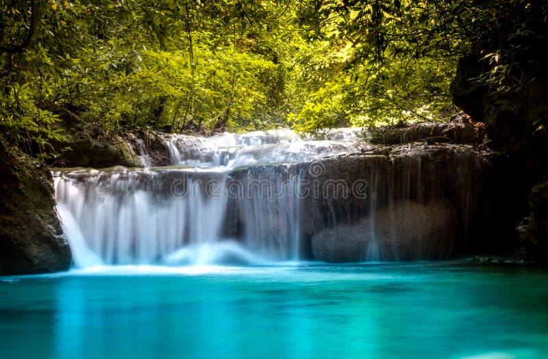piękna wodospadu obraz royalty free