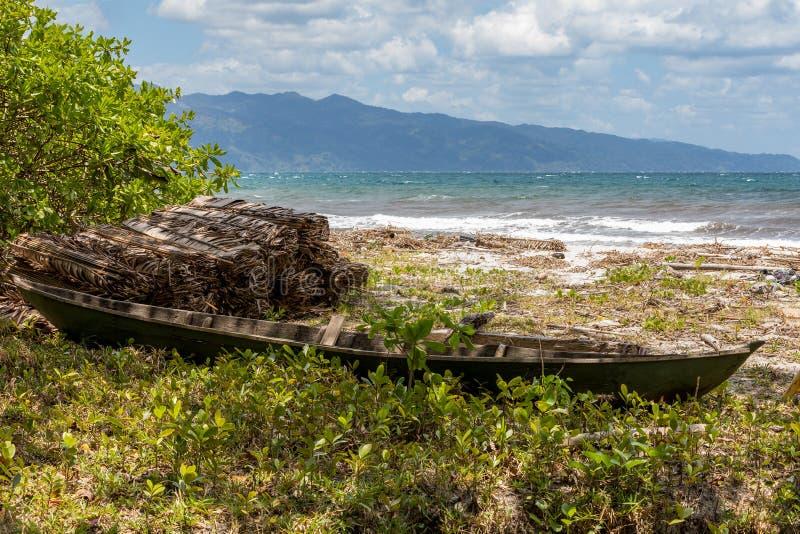 Piękna wymarzona raj plaża, Madagascar fotografia stock
