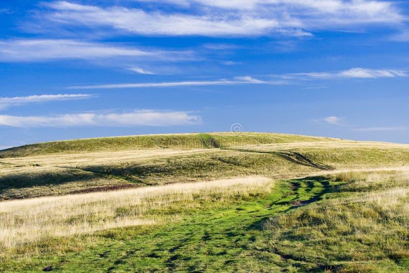 piękna zielona góra zdjęcia stock