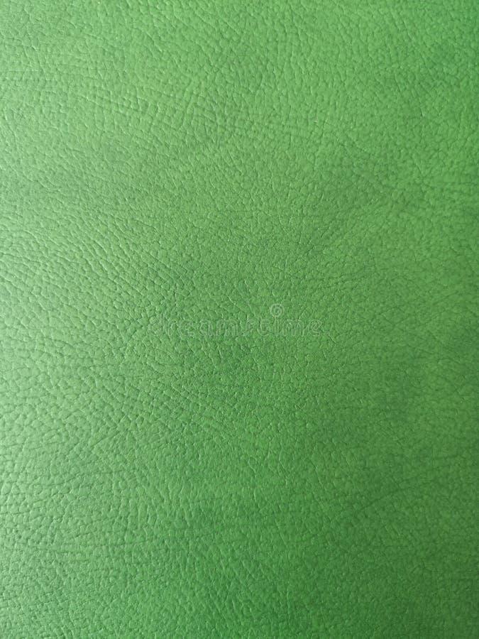 Piękna Zielona Rzemienna tekstura, wzór i tło, fotografia stock