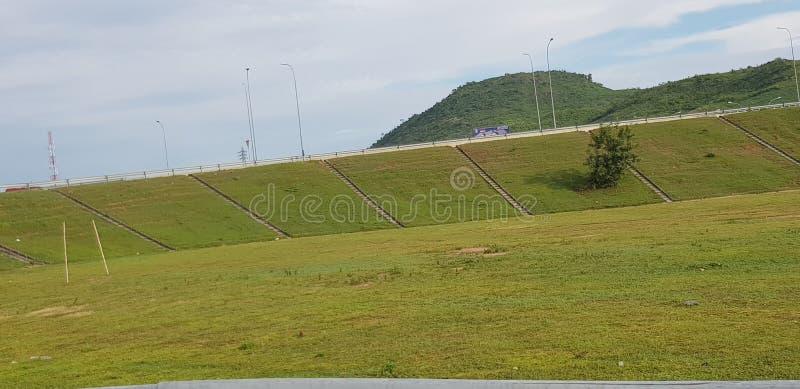 Piękna ziemia w federacyjnym kapitałowym Nigeria zdjęcia stock