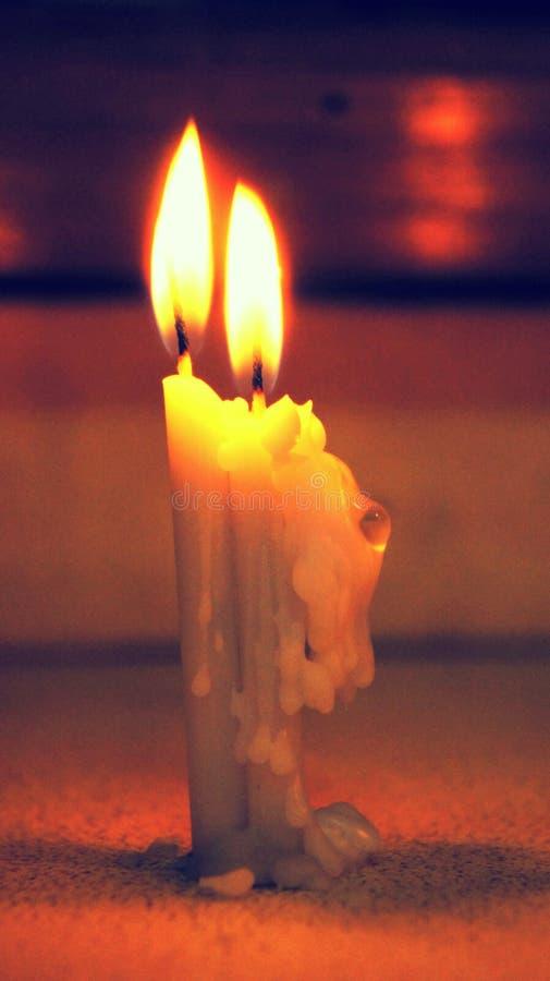 piękne świeczki zdjęcia royalty free