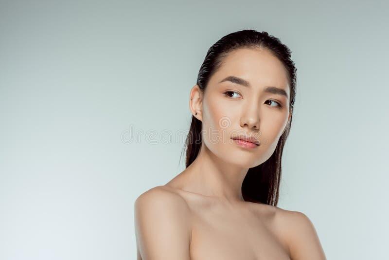 piękne azjatykci młodych kobiet fotografia stock