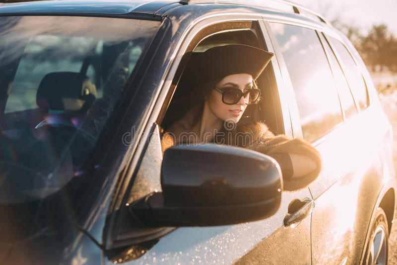 piękne brunetek young zdjęcie royalty free