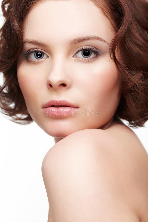 piękne brunetkę young zdjęcie royalty free