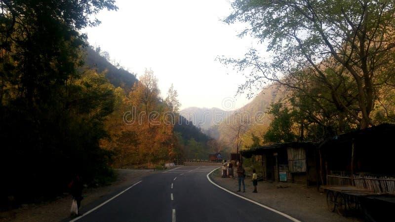 Piękne drogi Rishikesh, India zdjęcie royalty free