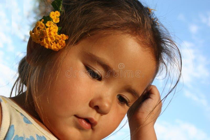 piękne dziecko obraz stock