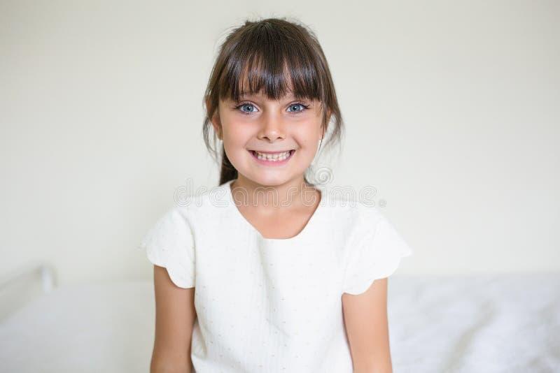piękne dziewczyny się uśmiecha fotografia stock
