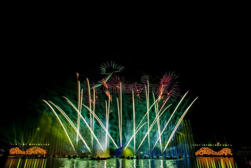 piękne fajerwerki zdjęcia royalty free