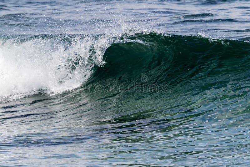 Piękne fale Atlantyk obrazy stock
