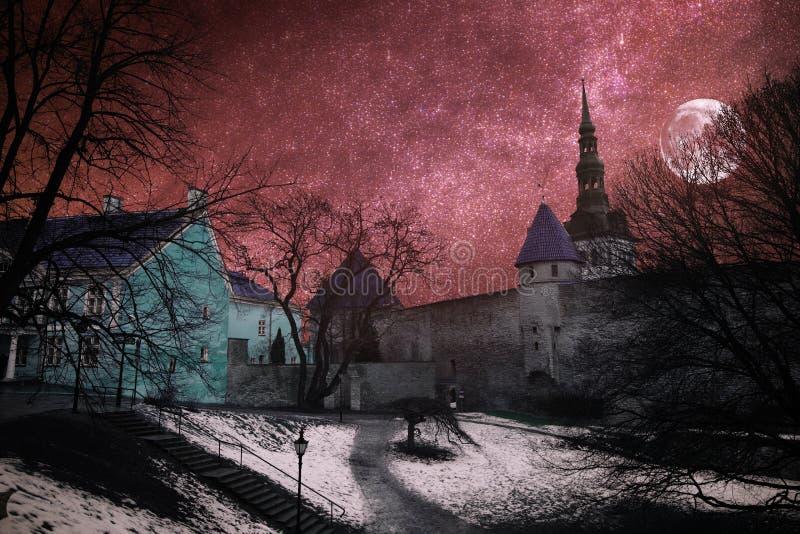 Piękne fotografie Tallinn fotografia stock