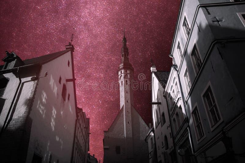 Piękne fotografie Tallinn obraz royalty free