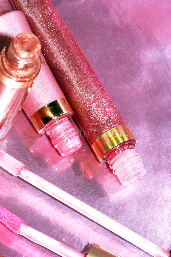 piękne glos różowe usta zdjęcia royalty free