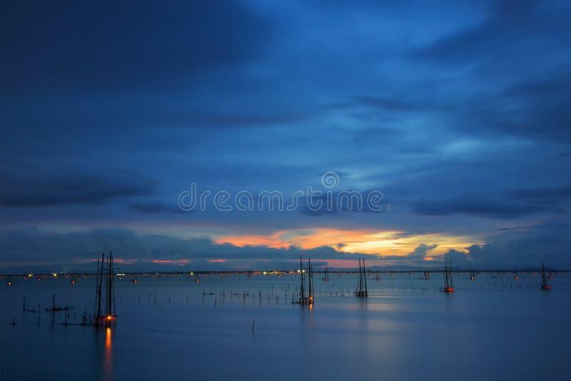 piękne jezioro fotografia stock