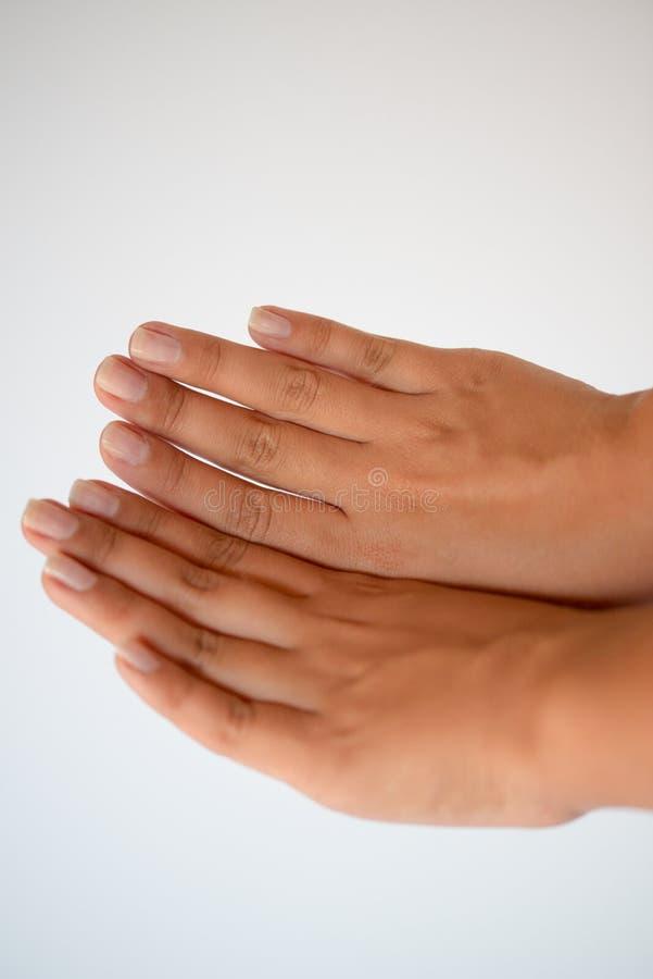 Piękne kobiet ręki zdjęcie stock