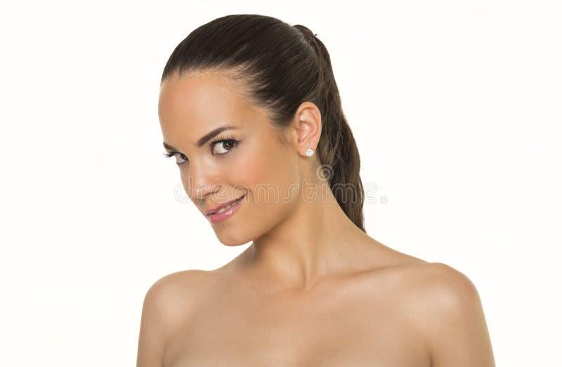 Piękne kobiet twarze obrazy stock