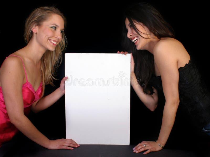 piękne kobiety reklam zdjęcia royalty free