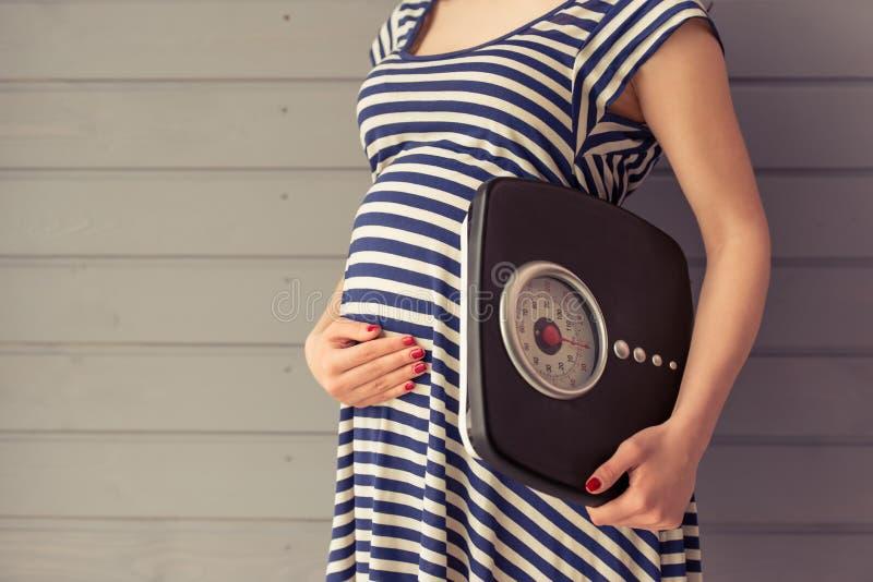 piękne kobiety w ciąży obraz stock