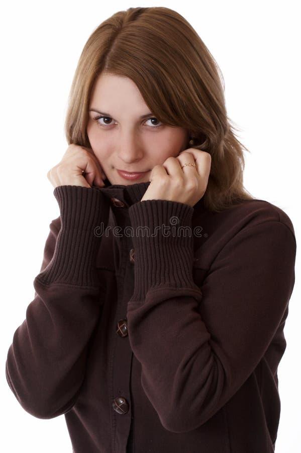piękne odosobnione młode kobiety zdjęcia stock
