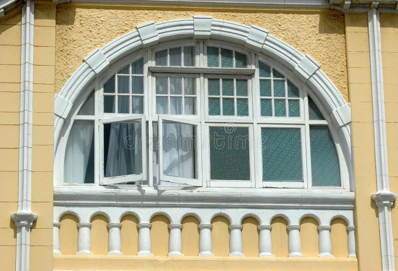 piękne okna obraz royalty free