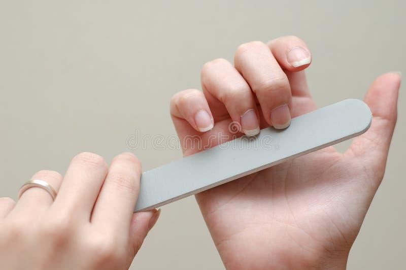 piękne paznokcie obrazy stock