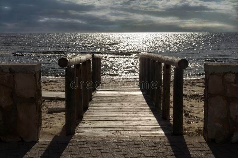Piękne plaże Włochy fotografia royalty free