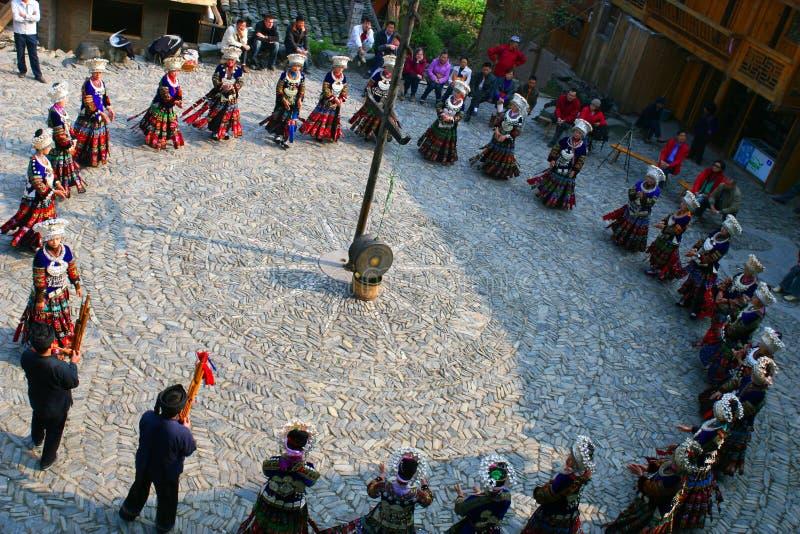 piękne porcelanowe Guizhou oryginału wioski fotografia royalty free