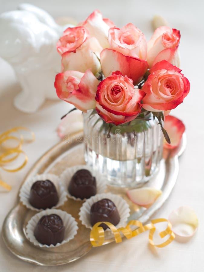 Piękne róże fotografia stock