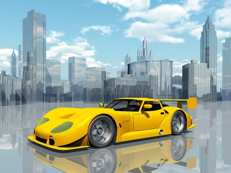 piękne samochody sportowe ilustracja wektor