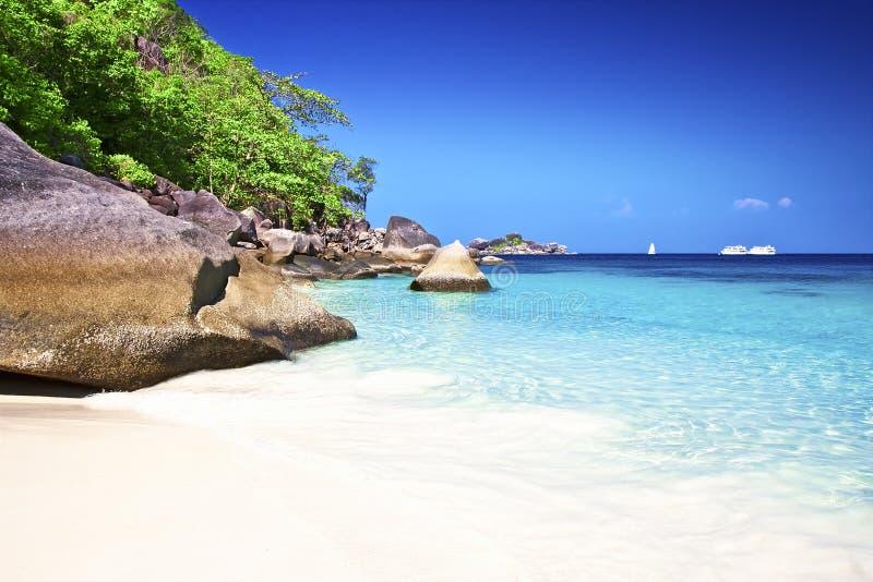Piękne Similan wyspy, Tajlandia obrazy royalty free