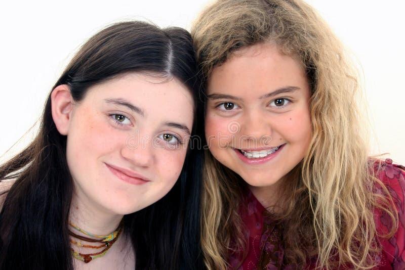 piękne starych przyjaciół 12 lat zdjęcia royalty free