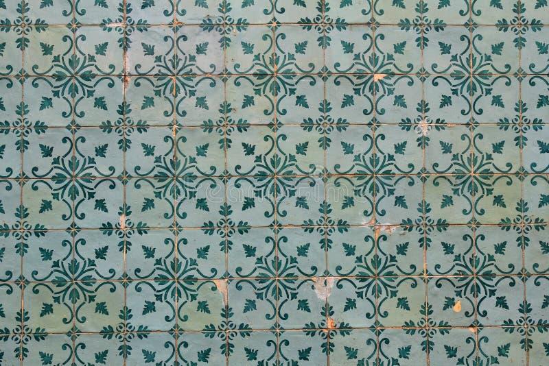 Piękne tradycyjne Lisbon płytki zdjęcie royalty free