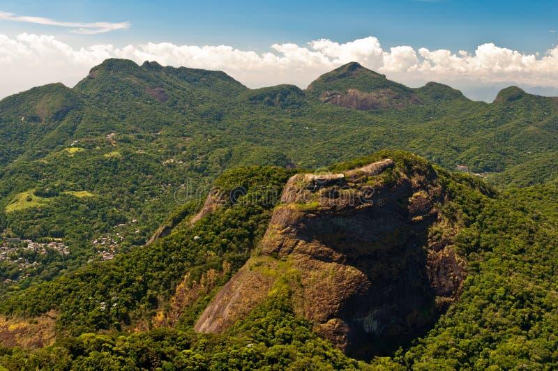 Piękne Tropikalne tropikalny las deszczowy góry zdjęcia stock