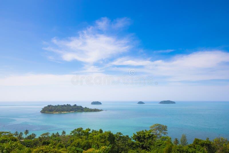 Piękne wyspy zdjęcie stock