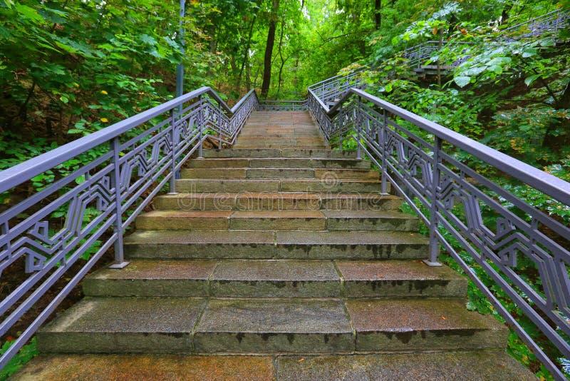 piękne zdjęcie parku bardzo schody obrazy royalty free