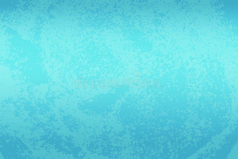 Pięknego Abstrakcjonistycznego Grunge marynarki wojennej błękita stiuku ściany Dekoracyjny Ciemny tło Sztuki tekstury Szorstki St ilustracja wektor