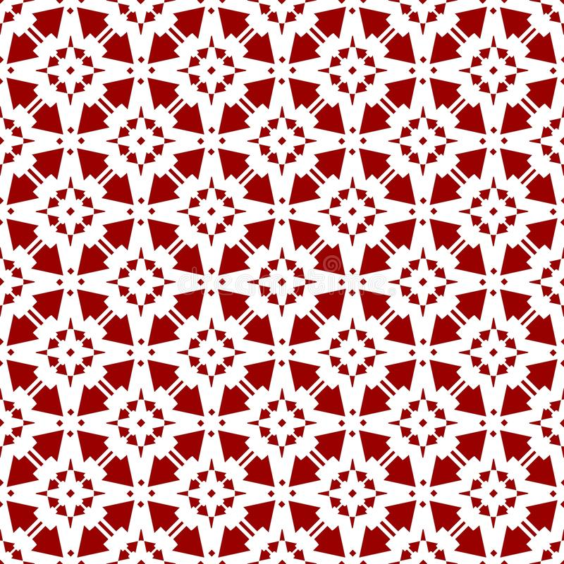 Pięknego Abstrakcjonistycznego Ornamentacyjnego Orientalnego Czerwonego Królewskiego rocznika tekstury Arabska Chińska Kwiecista  ilustracja wektor
