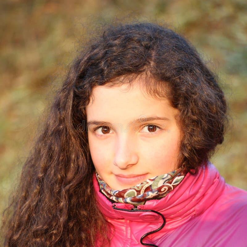 pięknego dziewczyny portreta nastoletni potomstwa zdjęcia royalty free