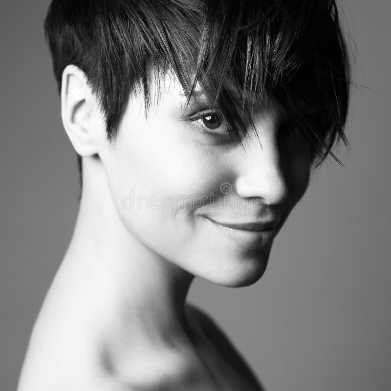 pięknego portreta zmysłowa kobieta zdjęcia stock