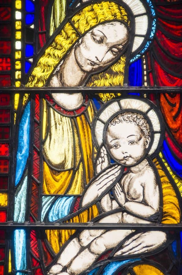 pięknego szkła pobrudzony okno zdjęcia royalty free