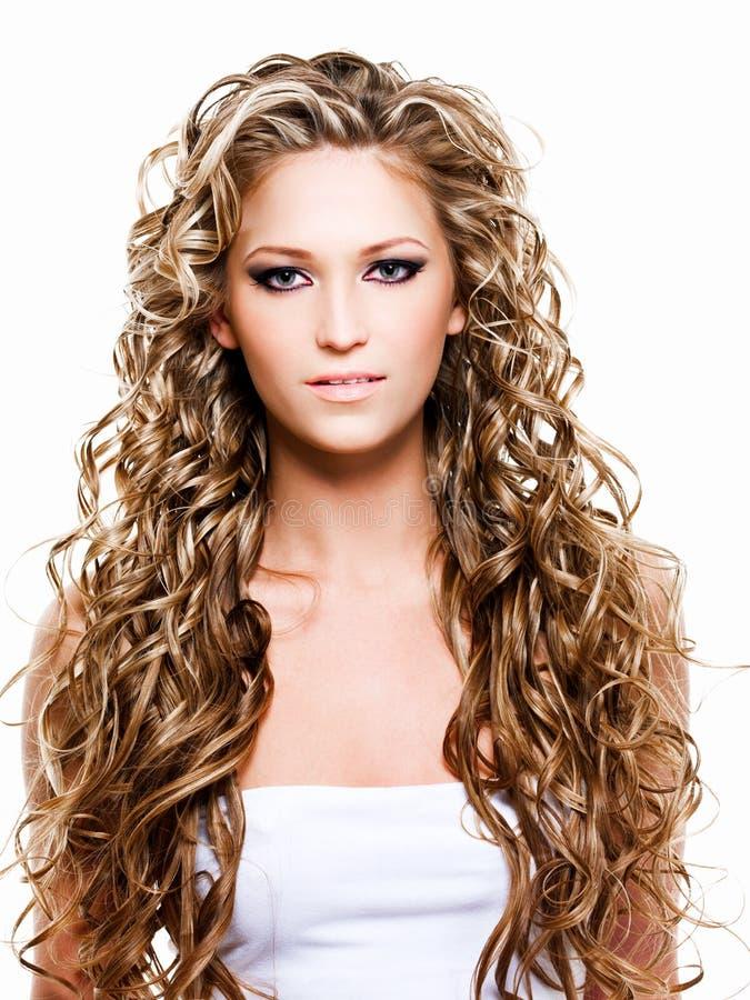 pięknego włosy dłudzy kobiety potomstwa fotografia stock