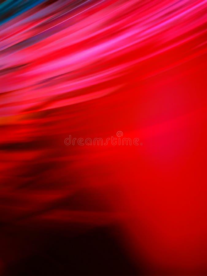 Pięknej abstrakcjonistycznej czerwieni zamazany tło royalty ilustracja