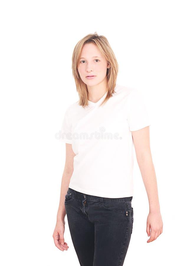 pięknej dziewczyny stary siedemnaście rok zdjęcia stock