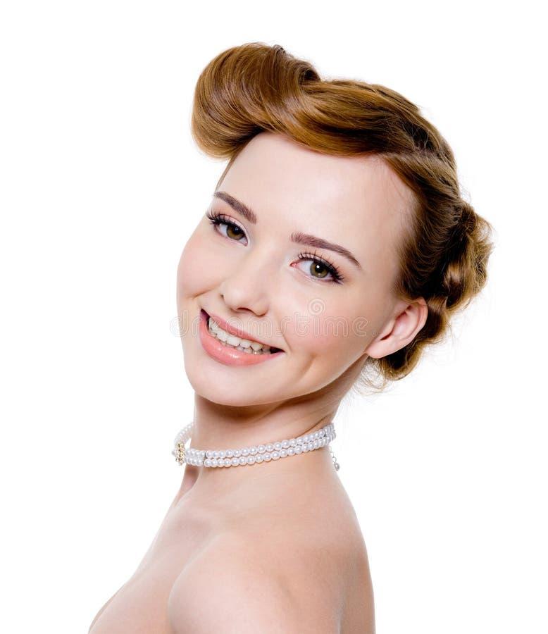 pięknej panny młodej szczęśliwy ja target1693_0_ obrazy royalty free